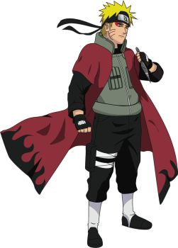 Naruto Jounin Sage with cloack by Yarite