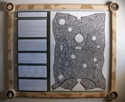 Framed Horlin Maze by LongHomeFox