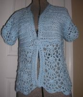 Fan Stitch Shrug or Bolero by Eliea