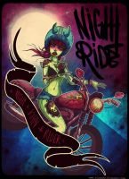 NightRide by alexowo
