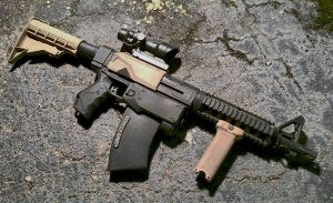 Custom Tactical Nerf Recon M4 Carbine by JohnsonArms