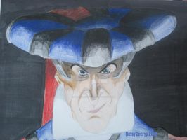 Frollo Portrait by Dracohoudini