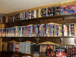 My movie collection by moonknight420
