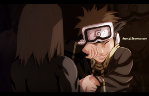 Obito and Rin - Naruto |Color| by Airest27