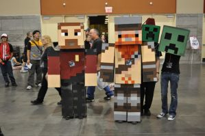 Minecraft Yogscast Cosplay 11 by Auzrill