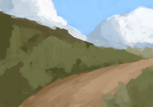 Mountain Road Rough by Evedell