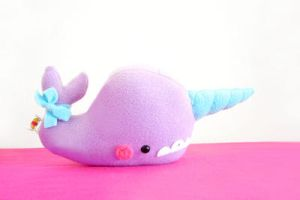 Anise the Narwhal by casscc