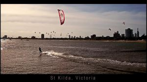 The Kite Surfer by metal-monkee