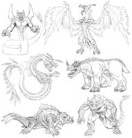kaiju concepts in the works by kaijuverse
