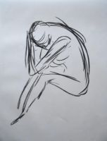 Gesture Drawing 2 by TheLadyNerd