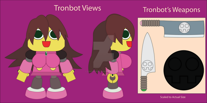 Tronbot Views and Weapons by chaospowerstone