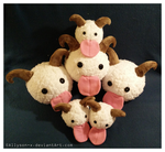 Poro Plushies by Allyson-x