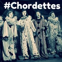 Chordettes dressed as clownettes by slr1238