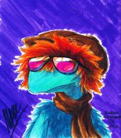 Boober Fraggle - Move over, Joe Cool by Plaid-F
