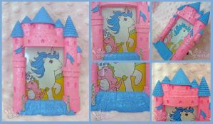 My Little Pony Castle Picture Frame by ChibiWorks