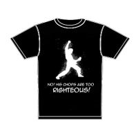 T-shirt Righteous Chops by Armenius