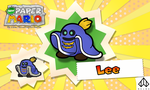 New Paper Mario: Lee by Nelde