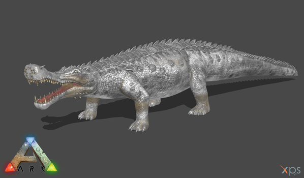 [ARK:SE] Sarcosuchus by Phelcer