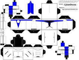 Cubee - Clone Trooper 'Blue' by CyberDrone