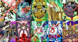 Top 10 Strongest Digimon by SilverBuller