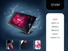 iriver multimedia cd interface by khakestari