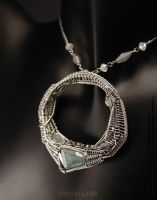 O necklace by IMNIUM