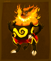 Emboar by Volcano-Queen