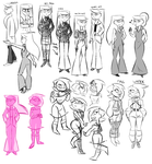 character sketches by spacekitsch