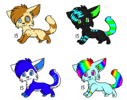 Adoptable batch set 5 (OPEN) by FireBladeFlame