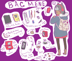 bag meme by indeoniisama
