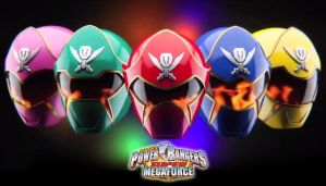 Power Rangers Super Megaforce wallpaper by scottasl