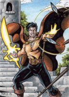 Spellcasters Sketch Card 5 by tonyperna