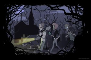 The Graveyard Shift by Drunken-Novice
