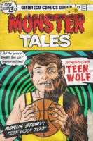 TEEN WOLF vintage comic by gimetzco