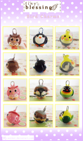 .: tiny blessing: Bird charms :. by C-Palmer