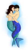 Hannibal mermaid AU - Together by FuriarossaAndMimma