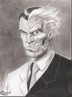 Two Face Ink Wash by Sajad126