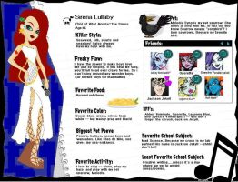 Monster High OC: Sirena Lullaby bio by smexxi-lil-bi-girl