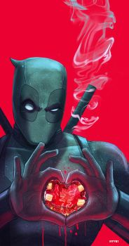 deadpool... have a heart by m7781