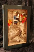 Madam Bovary Book Sculpture by wetcanvas