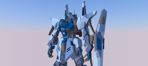 MSN-001 Delta gundam 1 by ltla9000311