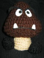 Goomba from Super Mario Bros. by Tirrivee