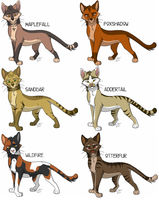 Cat adopts: batch 2 ALL SOLD by KaiserTiger