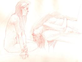 Life Drawing 4 by DylanTeague