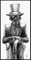 Victorian Cat by EzekielCrowe