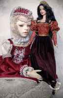 Doll and Doll by kamarza
