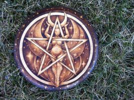 2015.1 Moon Goddess Pentacle by parizadhe