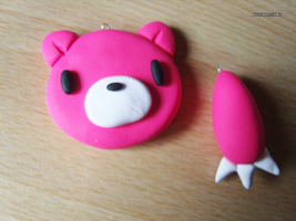 Gloomy Bear Charms by bruisepristinex