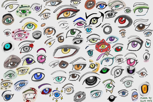Eye doodles! by End001