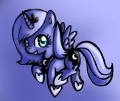 Filly Luna by littlehappypanda